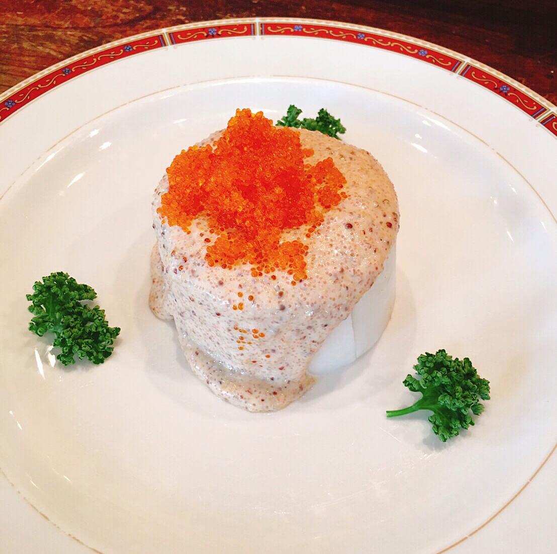 明太子のピリ辛大根サラダ